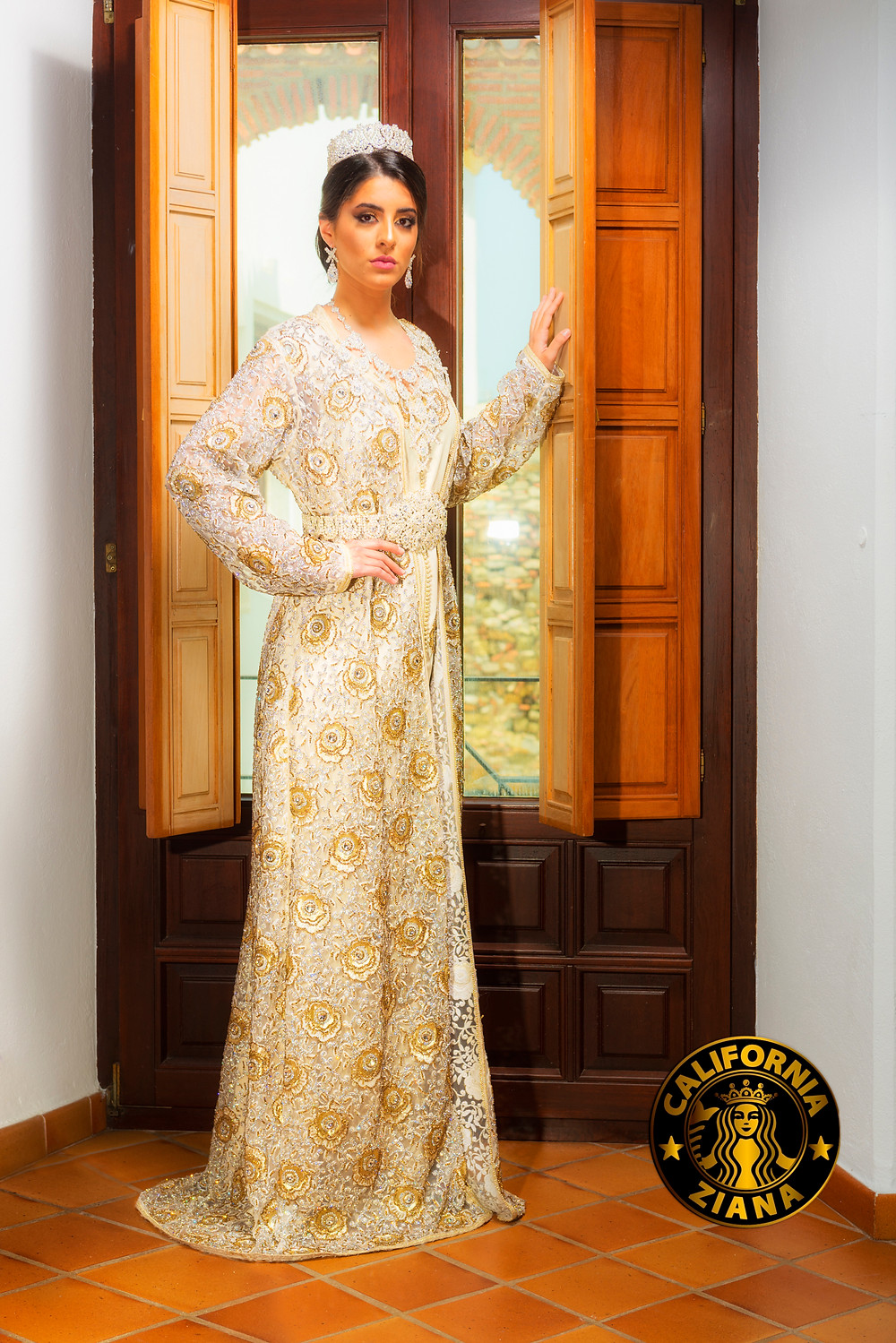 Ziana California kaftan dress.