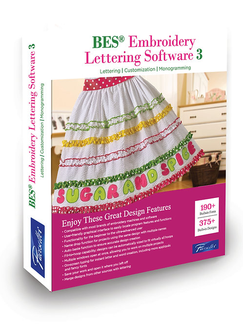 BES Lettering 3 Software