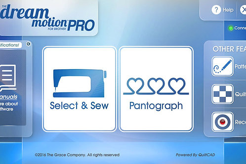 Brother Dream Motion PRO Software