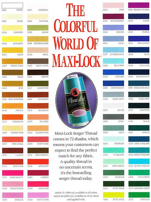 Maxi Lock Serger Threads