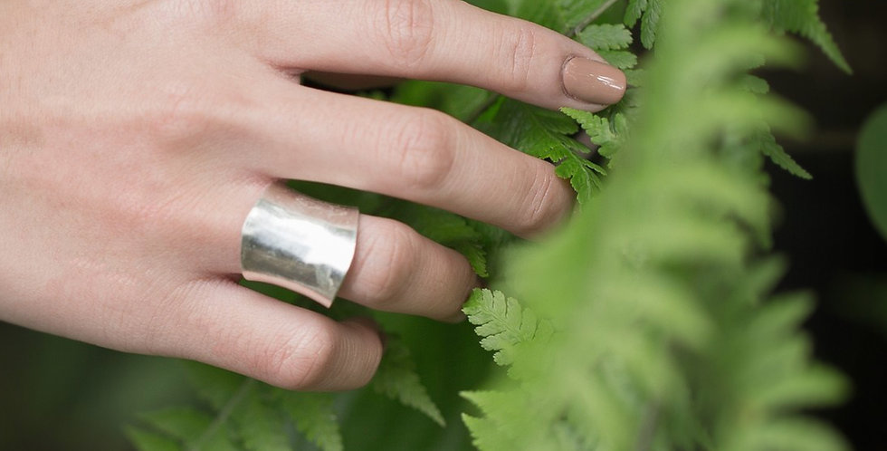 Classic Plain Ring in Silver