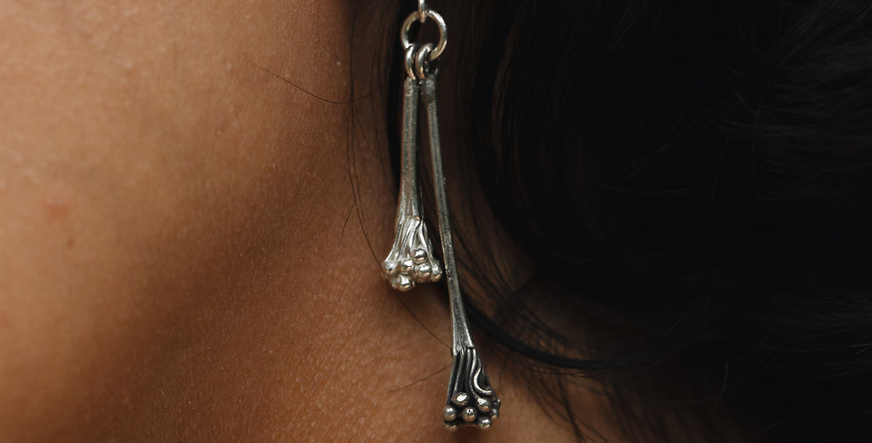 Two-tone Faith Earrings