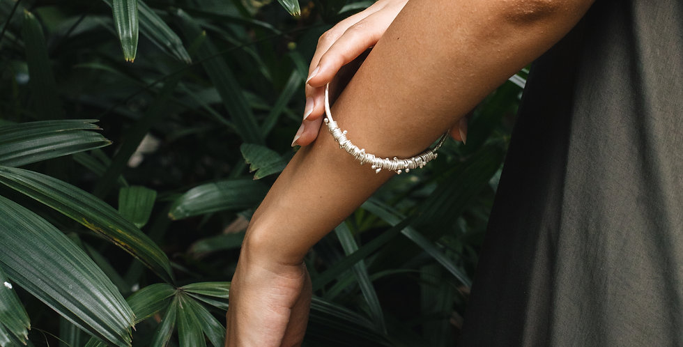 My Faith Arm Cuff in Silver