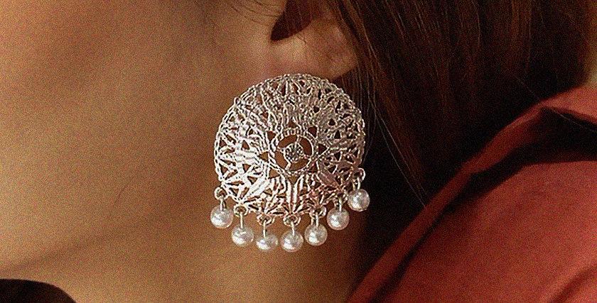 Shiksha Pearl Earrings (Limited)
