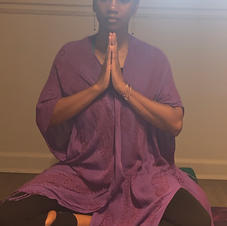 Meditation is part of my self-care practice