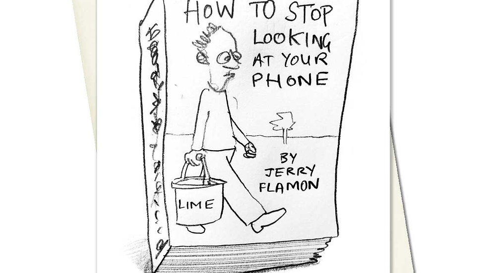 How To Stop Looking At Your Phone Greetings Card