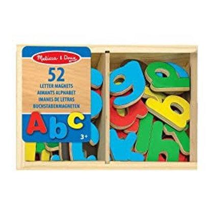 Set de imanes - alfabeto 52 piezas