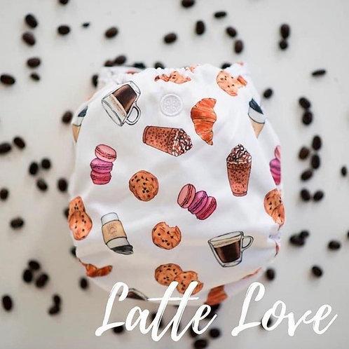 Buttons - latte love