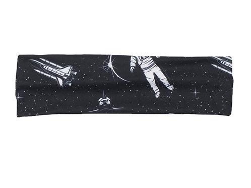 Flat headband - space race