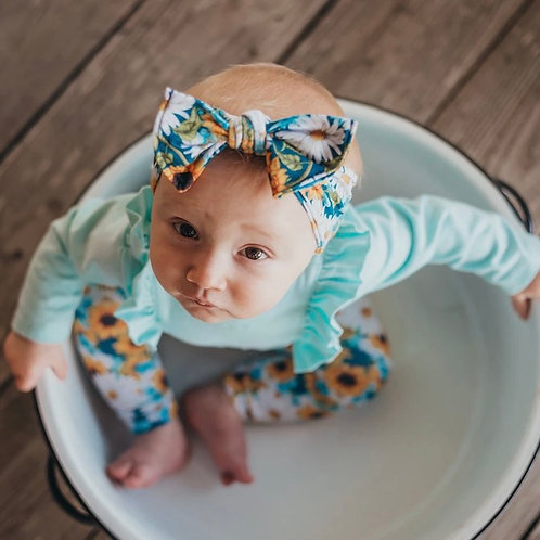 Headband bebé - hello sunshine