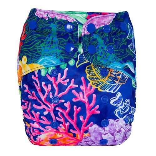 Splish splash swim diaper - caribbean coast