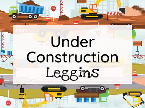 Under construction - leggins XL