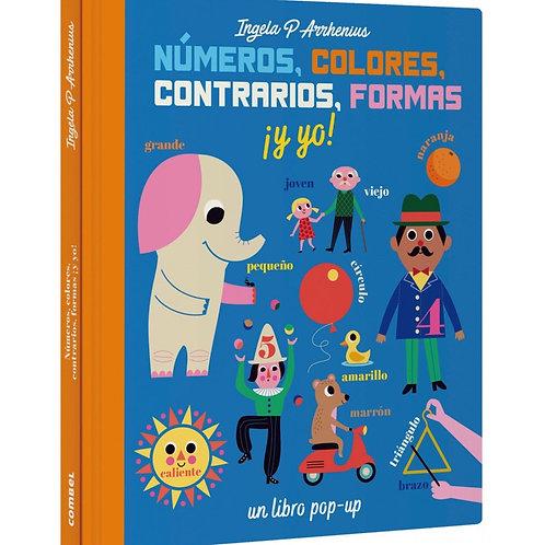 Numeros, colores, contrarios, formas ¡y yo!