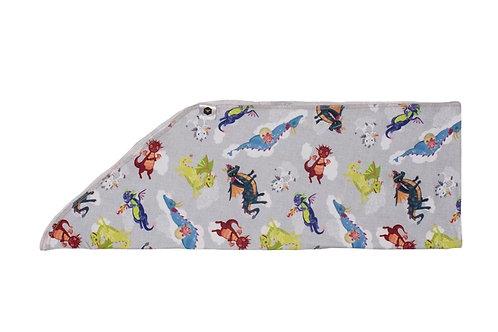 Tie on headband - dragon dreams