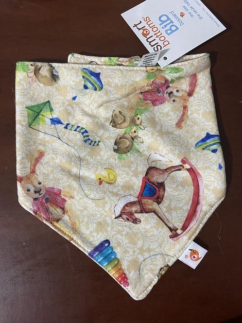 Nursey enchanted bandana bib