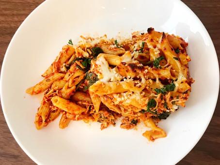 The Crowd Favorite:                  Bolognese Pasta Casserole