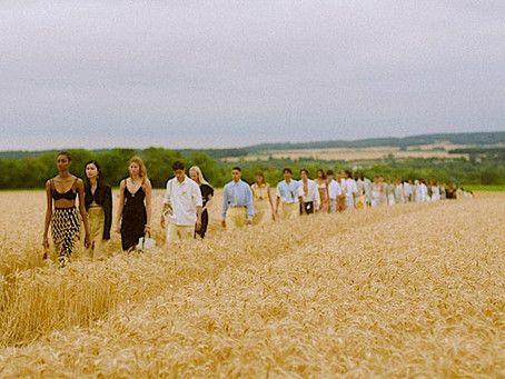 """Reinventing the Summer of """"L'Amour""""     with Jacquemus"""
