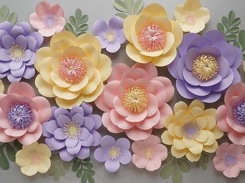 """Сет цветов """"Ваниль"""""""