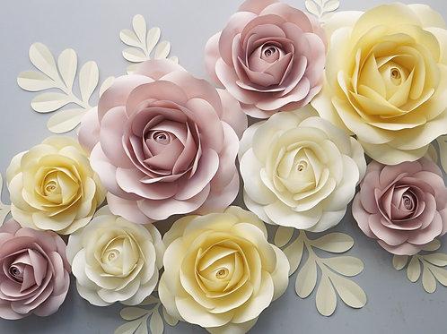 """Сет цветов """"Нежные розы"""""""
