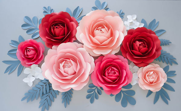 paper flowers template