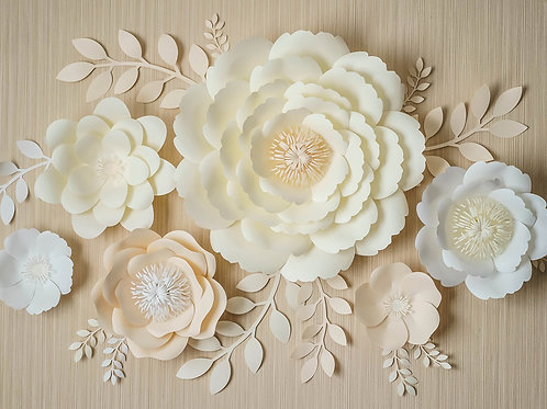 """Сет цветов """"Айвори"""""""