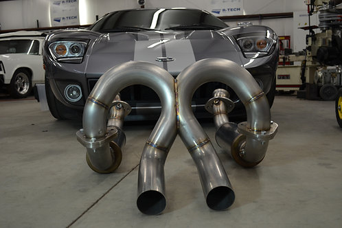 Ford GT exhaust system