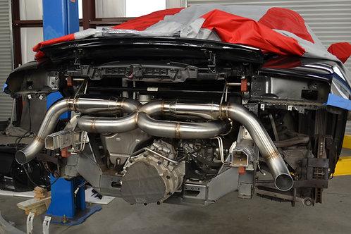 Audi R8 V10 exaust sytem