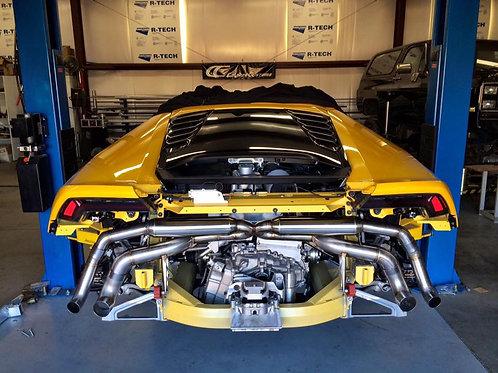 Lamborghini Huracan Valved exhaust sytem