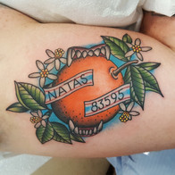 Flotida Orange Tattoo
