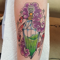 Potion Bottle Tattoo