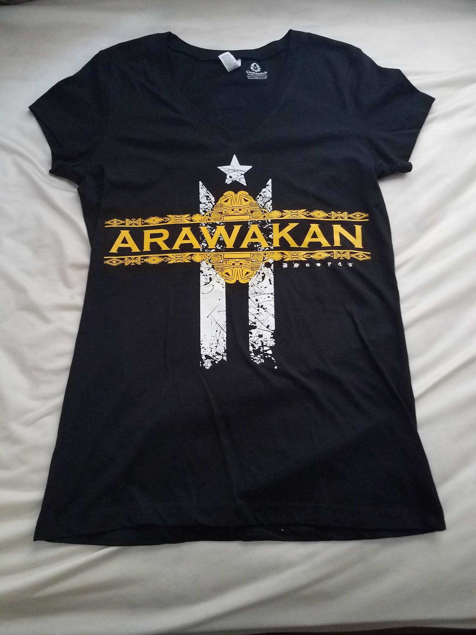 Front: Women V-Neck T-Shirt