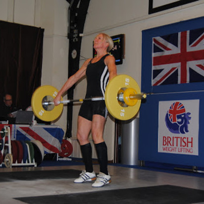 Masters Weightlifting Training Day