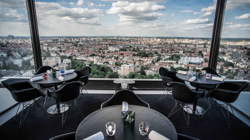 La Villa in the Sky / Alexandre Dionisio / Bruxelles (Belgique)