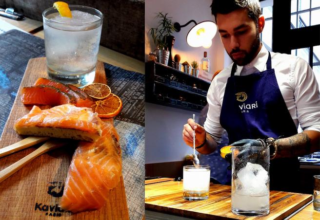 Kaviar, Seafood & Cocktail / La Manufacture / Paris 4