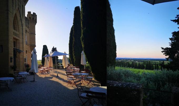 17 heures à l'Hostellerie du Château des Fines Roches