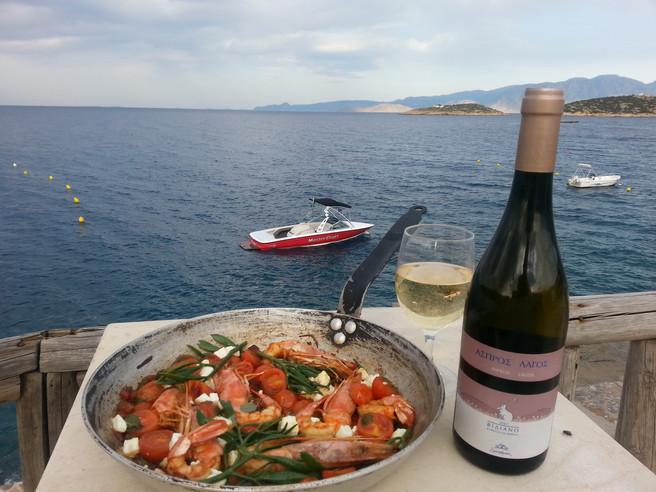 MAD : régime crétois et le vin / Crète