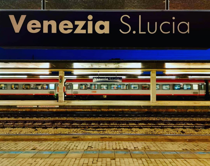On the rail with Thello (Paris-Milano-Venezia) - 3 Days in Veneto
