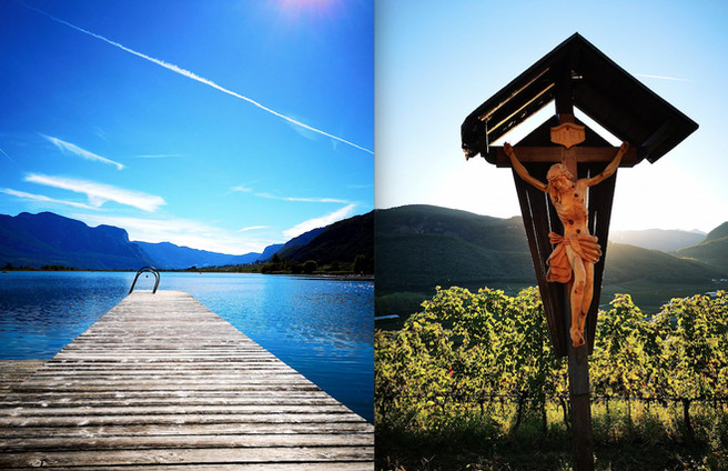 3 Days in Sud-Tyrol / Alto Adige (Italie) / Part I - Manincor (Caldaro) / Around the lake