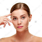stock-photo-woman-touching-brow-63178275
