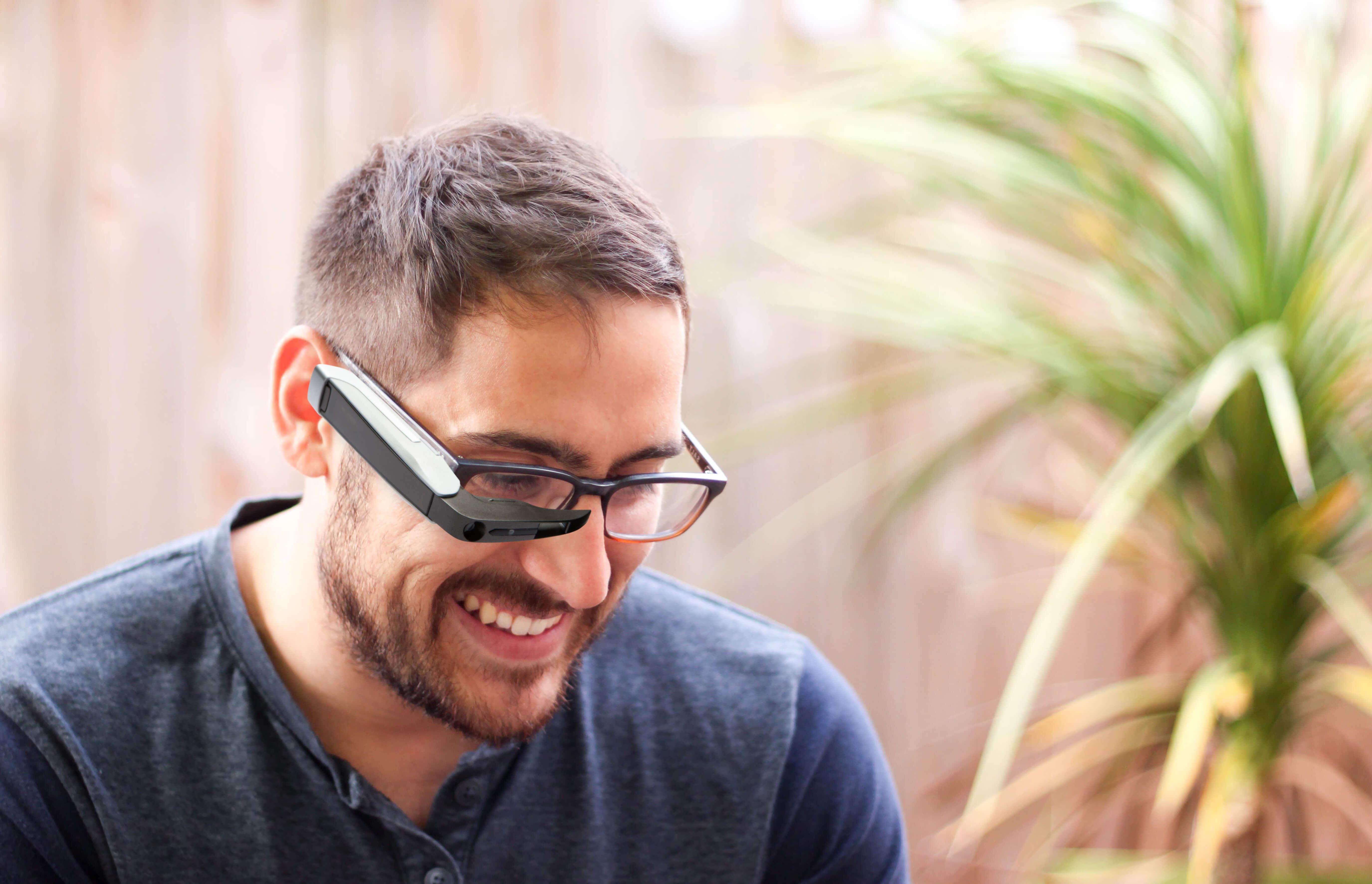 Telepathy Walker over Glasses