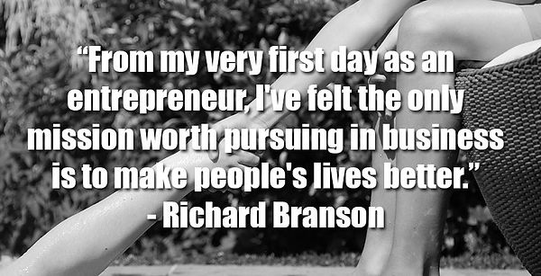 From my very first day as an entrepreneu