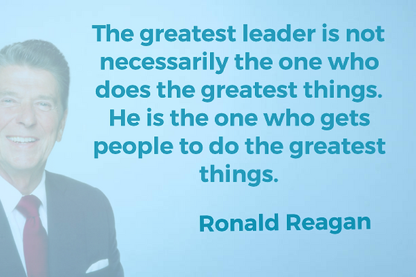 The greatest leader isn't necessarily.pn