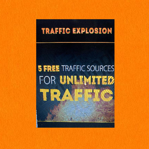 5 Free Ultimate Traffic Sources For Unlimited Traffic