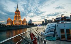 モスクワ川 クルージング