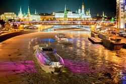 モスクワ川 クルーズ