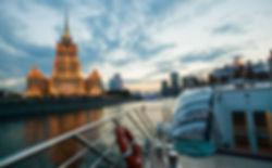 モスクワ川クルージングツアー