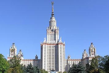 モスクワ国立大学本館