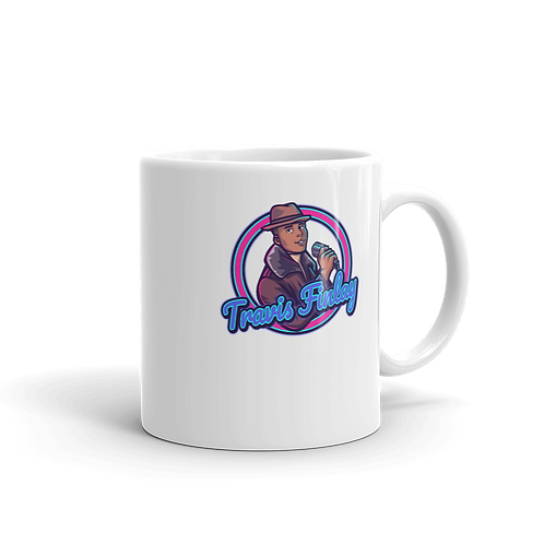 Travis Finlay Mug (White)