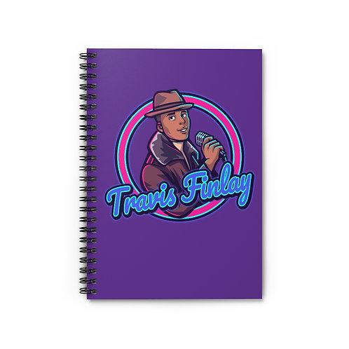 Travis Finlay Spiral Notebook - (Ruled Line)