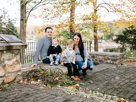 crisp fall new jersey family lifestyle session